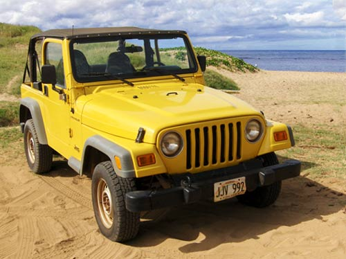 I Didn't Actually Ever Drive It On The Beach!