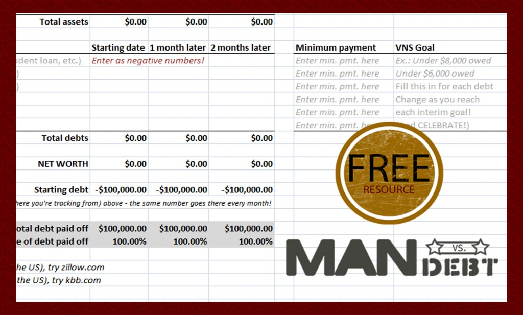 Free Resource: Debt Payoff Tracker